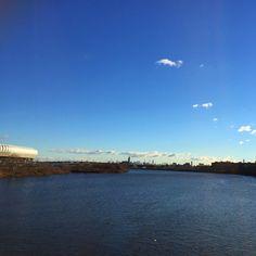 #Powerball #NewJersey #Harrison #PassaicRiver #RedBullStadium #NewYorkSkyline #BriceDailyPhoto