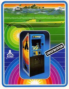 Destroyer by Atari - 1977