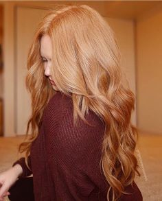 """Cozy sweaters extra long waves ⛄️ www.girlgetglamorousHAIR.com 