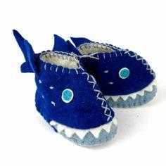 Shark Zooties Baby Booties - Silk Road Bazaar