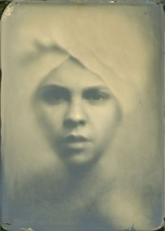 Ghost, photography by Alexey Sovertkov. Self-made soft lens. Wet-plate. 13x18.. In People, Portrait. Ghost, photography by Alexey Sovertkov. Image #194424