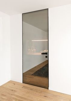 Porte battante / en aluminium / vitrée QUADRA ALBED
