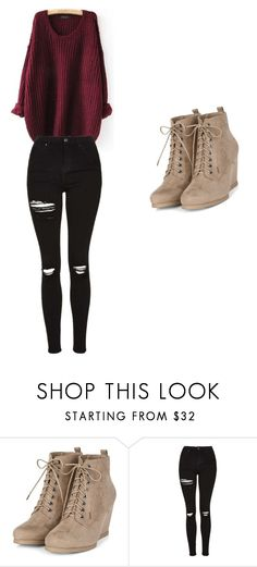 """cute"" by mikimmail on Polyvore featuring Topshop"