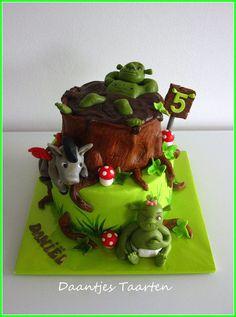 Shrek likes mud baths