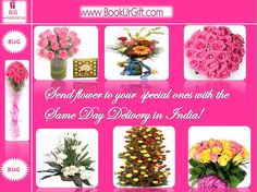Send beautiful and fresh flowers to India with same day delivery! Avail this facility only at BooUrGift. http://bookurgift.com/flowers