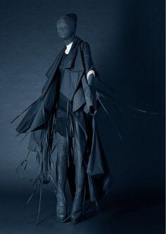 Barbara Í Gongini Fall/Winter 2011  Otherworldly fashion from Copenhagen's emerging avant-goth designer