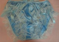 nel-jen High Leg Lace Sissy Ruffle Panties - Custom Made Nickers - other colors Nylons, Granny Panties, Nickers, Pink Satin, Blouse Styles, Cute Fashion, Vintage, Lace, Clothes