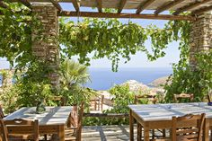 "Enjoying the traditional Greek cuisine and the best delicacies from Sifnos  - ""Windmill Bella Vista"" hotel, Sifnos"