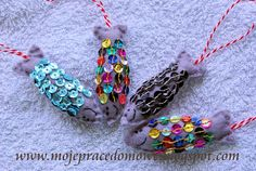 Pracownia Milgra: Haftowanie koralikami, cekinami, guzikami... Turquoise Bracelet, Beaded Bracelets, Jewelry, Fashion, Moda, Jewlery, Jewerly, Fashion Styles, Pearl Bracelets