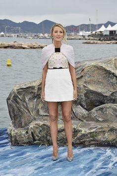 Blake Lively: maravillosa en el festival de Cannes