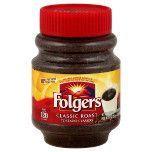 Folgers - Classic Roast, Café Instantáneo, 8 oz.