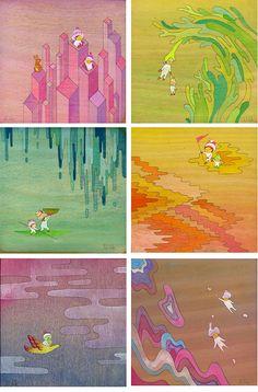 Seriously adorable art pieces!
