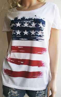 4th of July  Southern Girl  American Flag by SouthernGirlApparel, $27.50