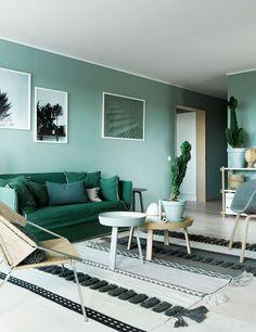 Salón de vivienda en Suecia • Total Green. Photo: J.Ingerstedt