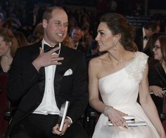Prince William and Kate Middleton saw Oscar-nominated climbing documentary Free Solo and were very impressed. They royal parents arranged a private screening of the film so Prince George could see it too. Duchess Kate, Duke And Duchess, Duchess Of Cambridge, One Shoulder Gown, One Shoulder Wedding Dress, Kate Middleton, Alexander Mcqueen, British Academy Film Awards, Prince William And Kate