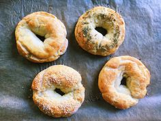 I Made Those Weight Watchers Bagels and They Were Surprisingly Decent — MyRecipes Ww Recipes, Light Recipes, Cooking Recipes, Bread Recipes, Cooking Pork, Donut Recipes, Cooking Ideas, Weigt Watchers, Bagel Recipe