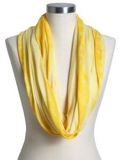 I love infinity scarves.