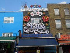 Camden Tattoo Parlour, Camden High Street, London pinned by Debbie www.coffeecakeandculture.com