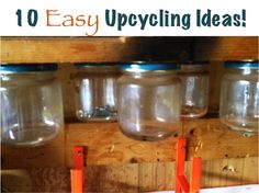 10 Easy Upcycling Ideas! at TheFrugalGirls.com #recycle #upcycle #diy