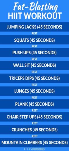 If you're short on time and want to get the best out of your workout, this 10-minute fat burning HIIT workout is perfect for you!