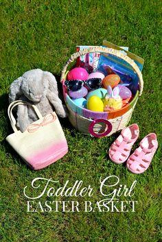 DETTE CAKES: Toddler Girl Easter Basket