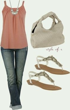 Casual outfit ideas for summer 2014