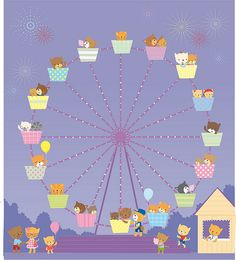 Ferris wheel by Stella Baggott, via Flickr