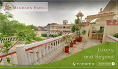 Come explore the lush surroundings at Mandawa Haveli. Situated in the heart of pink city, mandawa haveli is the perfect destination of leisure & comfort seekers. Book your royal stay now!! #Heritage #Hotel #pinkcity #Royal #comfort #leisure #summer #resort #Vacations #travel #WeekendGetaway