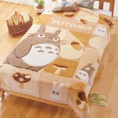 I found 'Totoro Blanket' on Wish, check it out!