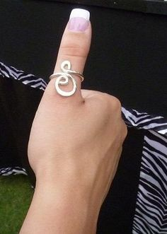 rings.sterling silver thumb ring.adjustable. pretty funky style.cute.boho chic fashion accesories.from http://ulovejewelry.etsy.com