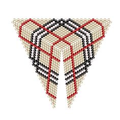 burberry triangle pattern 2
