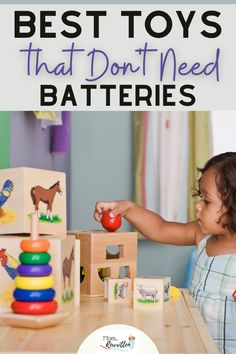 Skip the battery-operated toys and electronic games, these classic toys have proven the test of time! A mix of outdoor toys, board games, construction toys, vehicles and water play, this round up of toys that don't need batteries includes some new playthings that might surprise you! Unplugged toys gift guide ideas for toddlers to teens. #Games #Toys #Gifts #GiftGuide #HolidayShopping #Unplugged #KidsToys