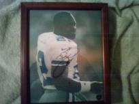 Emmitt Smith NFL Dallas Cowboys Signed 8x10 framed photo
