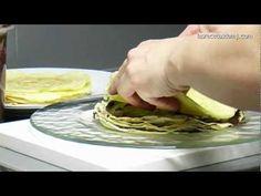 Las Recetas de MJ | TARTA DE CREPES CON CHOCOLATE AL AMARETTO. Recipes, Recetas, Food, Cocina, Gastronomía...