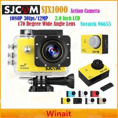 (81.65$) Watch more here - Original SJCAM mini action camera DV-X1000 1080P 30fps 170D wide angle lens sport camera waterproof video camcorder