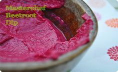 #Masterchef Roasted #Beetroot Dip #recipe for Thermomix!