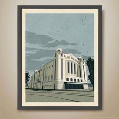 Palais Theatre, St. Kilda. Melbourne print | hardtofind.