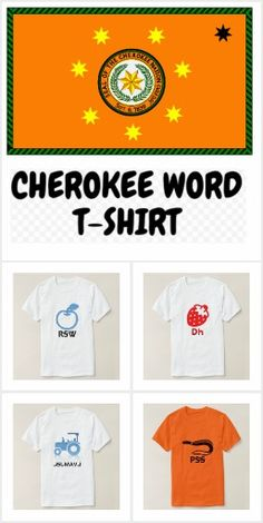 Cherokee Word T-Shirt Cherokee Words, Random Stuff, Mens Tops, How To Make, T Shirt, Collection, Design, Random Things, Supreme T Shirt