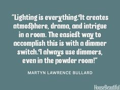 Interior Design Quotes About Lighting Billingsblessingbagsorg