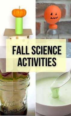 Fall science activities are always so much fun for kids to do. There are a lot of activities that aren't just fun, they are educational too. These autumn themed science experiments with apples, plants and pumpkins are super fun and will bring a new twist to your favorite science activities. #fallactivities #scienceactivities #fall Science Crafts, Easy Science Experiments, Autumn Activities For Kids, Educational Activities For Kids, Pumpkins, Apples, Homeschool, Curriculum, Fall