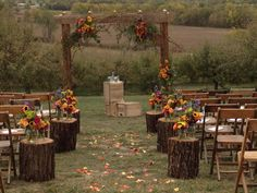 Northwest Missouri Autumn Wedding