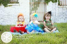 Sesame Street tutu sets by Fit For A Princess.