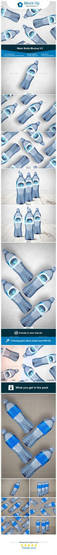 #Water #Bottle #Mockup V.2 - Miscellaneous Print