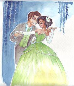 Naveen and Tiana by TaijaVigilia