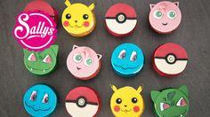 Pokemon Go Cupcakes / Muffins / Cupcake Topper - YouTube