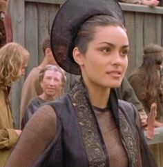 """Jocelyn's costumes were crazy but awesome in """"A Knight's Tale."""""""