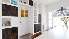 Foto's: vtwonen | Aflevering 8 | voor en na - vtwonen - SBS6. Wandkast gemaakt door Sijmen Interieur.