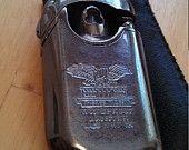 Fieree Tiger WWII Era Windproof Butane Lighter Made in WZ-1029 Germany W/Case