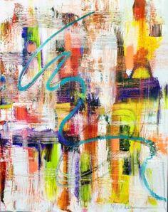 """Saatchi Art Artist Alma Lee; Painting, """"Tattered"""" #art"""