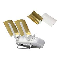 Copper Parabolic Antenna Signal Range Booster for DJI Phantom 4 Phantom 3 Professional Advanced Inspire 1 Controller Transmitter Signal Extender >>> Want to know more, click on the image.
